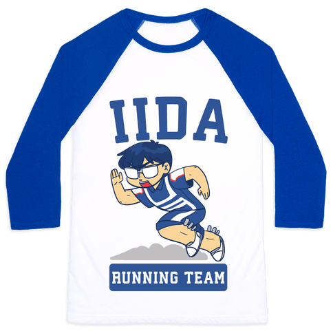 Tenya Iida Running Team Baseball Tee