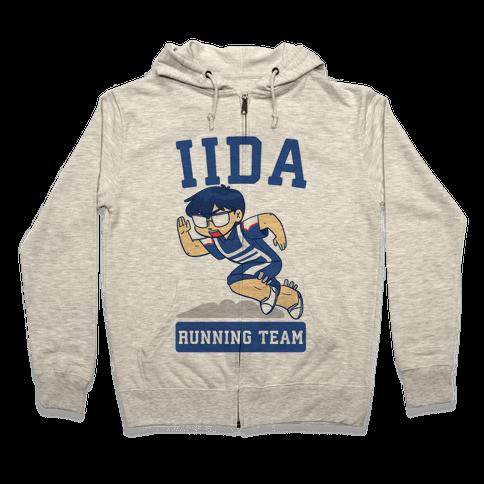 Tenya Iida Running Team Zip Hoodie