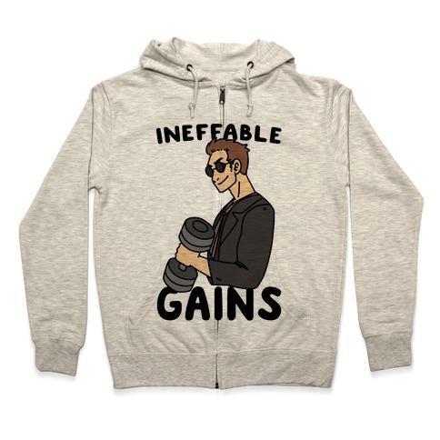 Ineffable Gains - Crowley Zip Hoodie