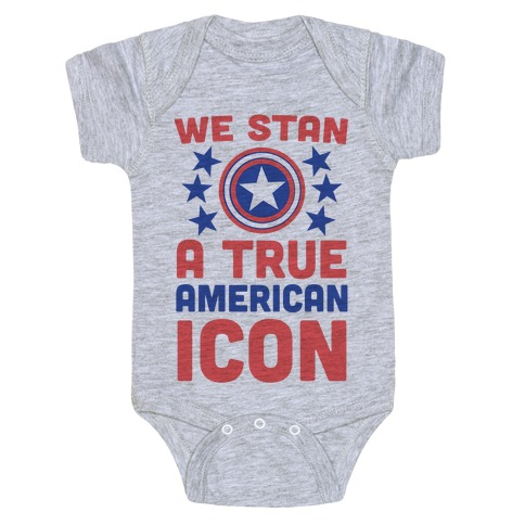 We Stan a True American Icon Baby Onesy