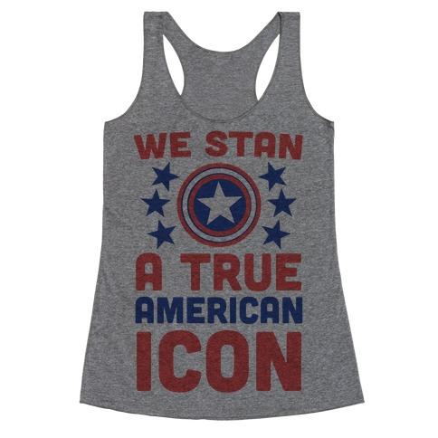 We Stan a True American Icon Racerback Tank Top