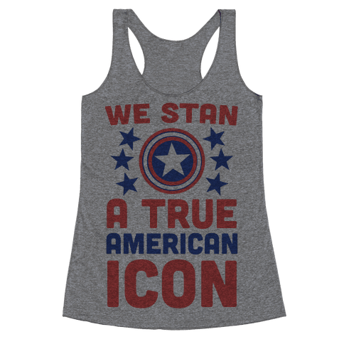 We Stan a True American Icon Racerback Tank Top