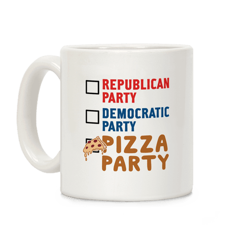 Pizza Party Coffee Mug