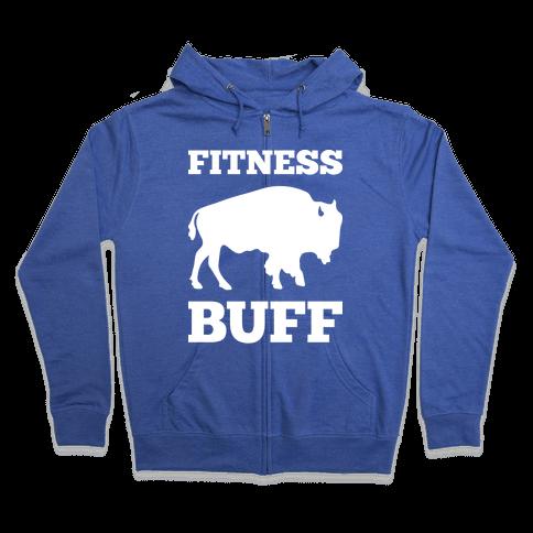 Fitness Buff Zip Hoodie