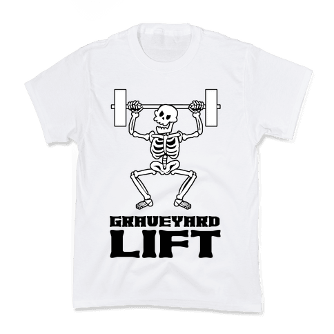 Graveyard Lift Kids T-Shirt