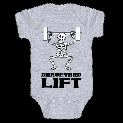 Graveyard Lift Baby One-Piece