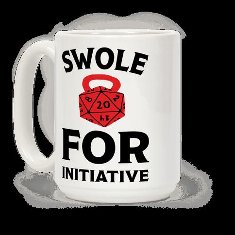 Swole For Initiative D20 Mug