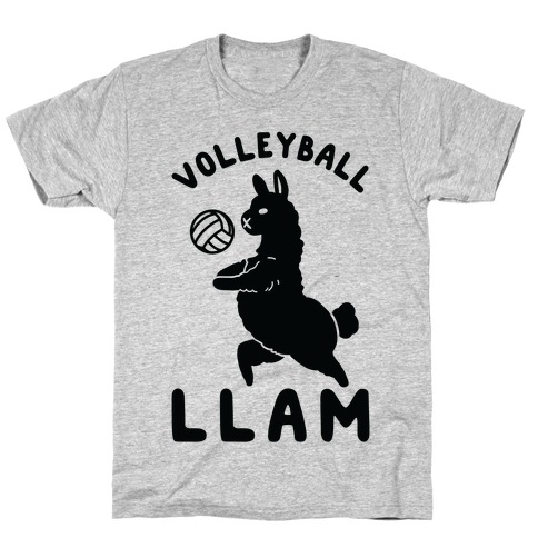 Volleyball Llam T-Shirt