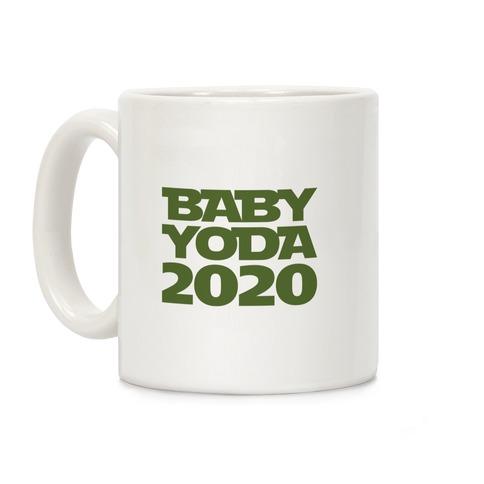 Baby Yoda 2020 Parody Coffee Mug