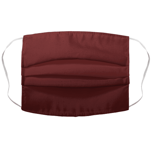 Burgundy Gradient Face Mask