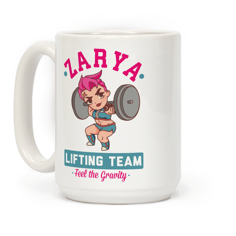 Zarya Lifting Team Coffee Mug