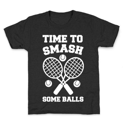 Time to Smash Some Balls Kids T-Shirt