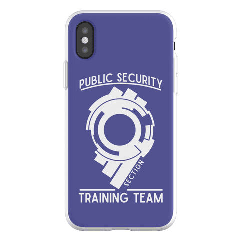 Section 9 Public Security Training Team Phone Flexi-Case