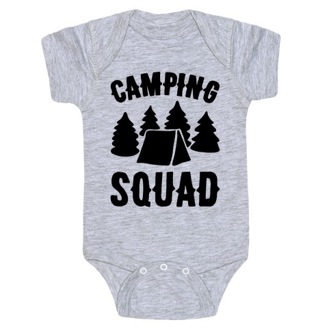 Camping Squad Baby Onesy