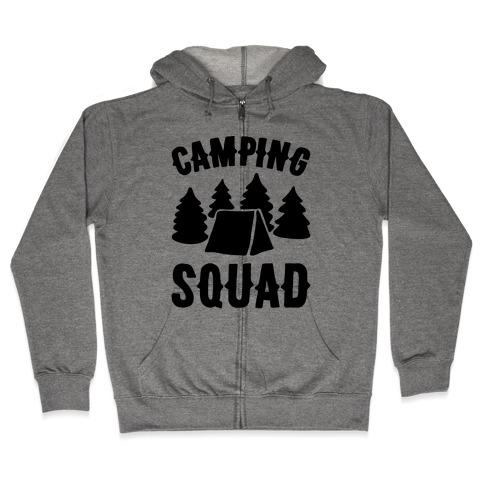 Camping Squad Zip Hoodie