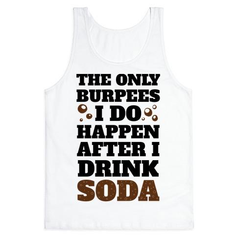 Soda Burpees Tank Top