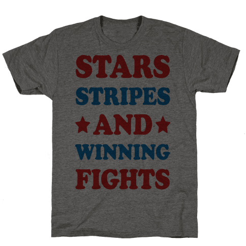 Stars Stripes And Winning Fights