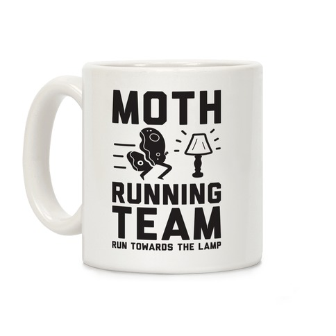 Moth Running Team Coffee Mug