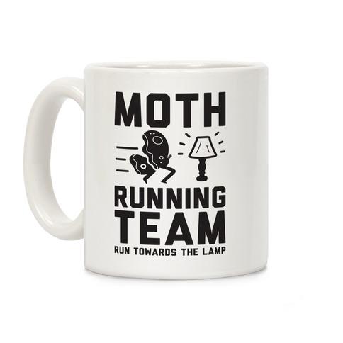 Moth Running Team Coffee Mug