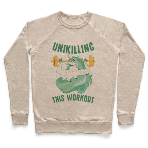 Unikilling This Workout Pullover