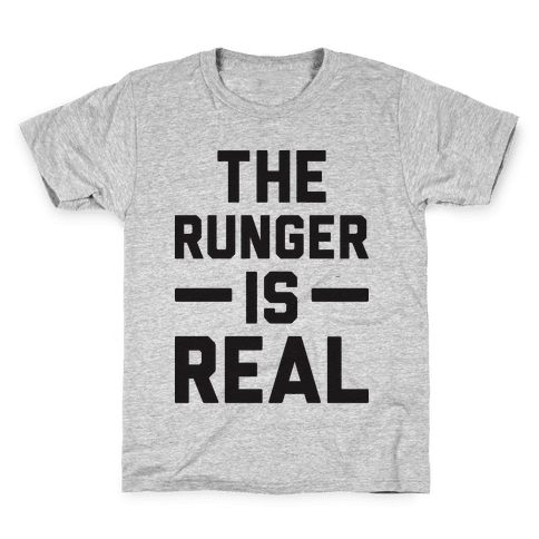 The Runger Is Real Kids T-Shirt