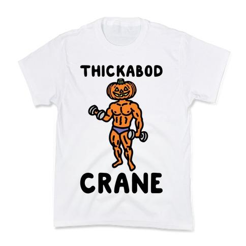 Thickabod Crane Parody Kids T-Shirt
