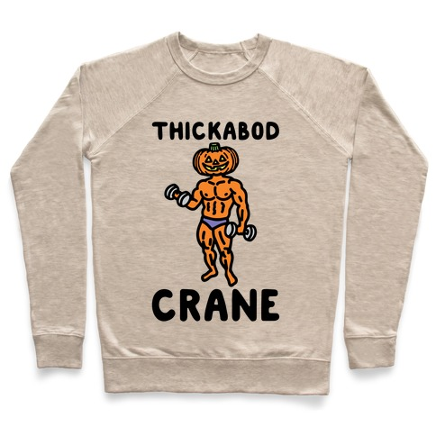 Thickabod Crane Parody Pullover