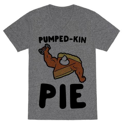 Pumped-kin Pie V-Neck Tee Shirt