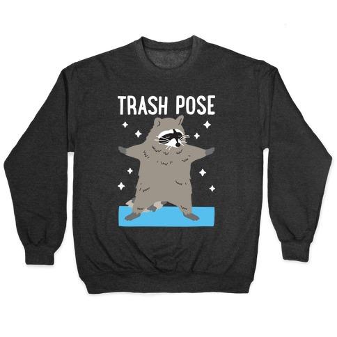 Trash Pose Raccoon Pullover