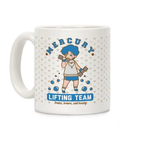 Mercury Lifting Team Parody Coffee Mug