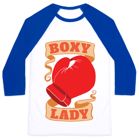 Boxy Lady Baseball Tee