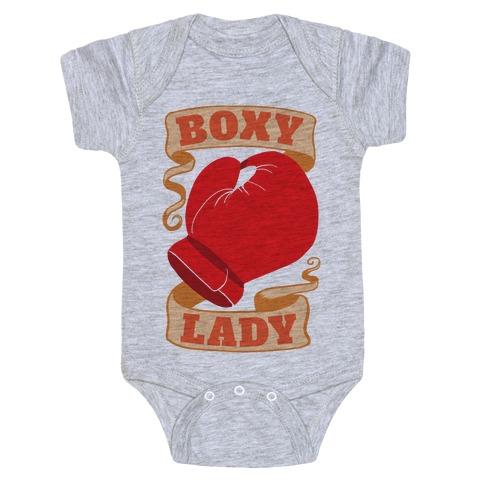 Boxy Lady Baby Onesy