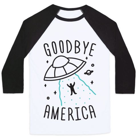 Goodbye America Baseball Tee