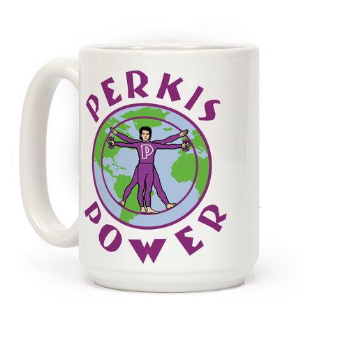 Perkis Power Coffee Mug