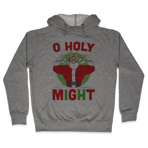 O Holy Might - All Might Hooded Sweatshirt