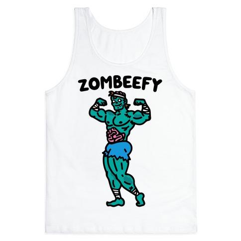 Zombeefy Parody Tank Top