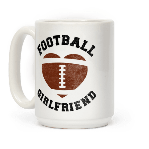 Football Girlfriend Coffee Mug