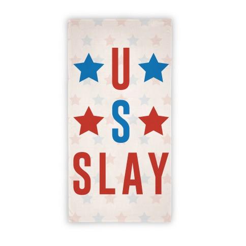 U S Slay Beach Towel Beach Towel