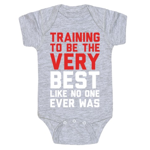 Training To Be The Very Best Baby Onesy