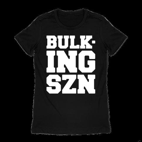 Bulking SZN White Print Womens T-Shirt