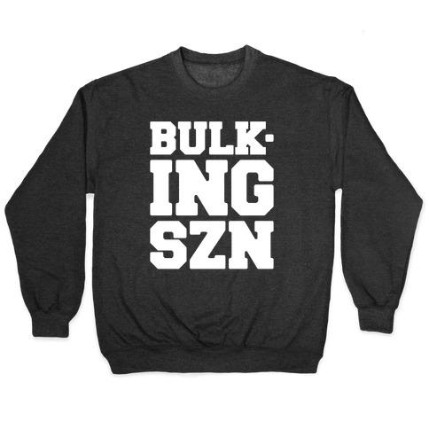 Bulking SZN White Print Pullover