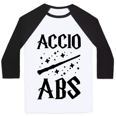 Accio Abs Baseball Tee