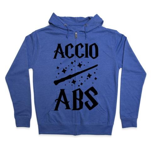 Accio Abs Zip Hoodie