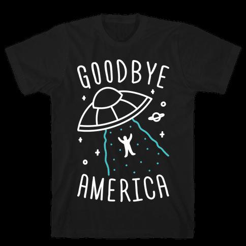 Goodbye America Mens T-Shirt