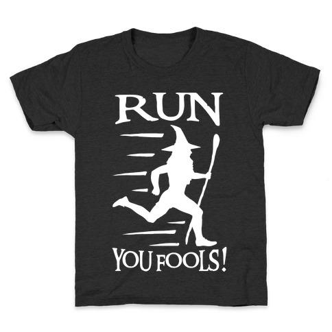 Run Your Fools Kids T-Shirt