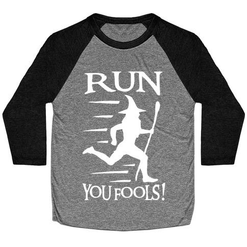 Run Your Fools Baseball Tee