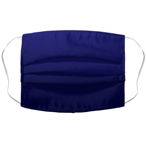 Navy Gradient Face Mask Cover