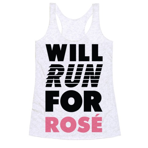 Will Run For Ros Racerback Tank Top