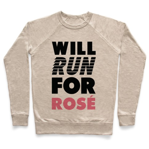 Will Run For Ros Pullover