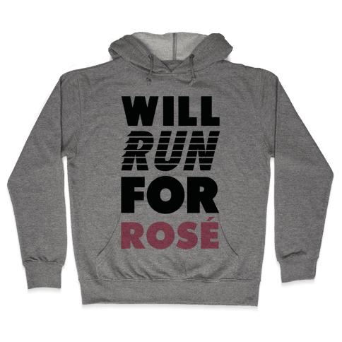 Will Run For Ros Hooded Sweatshirt